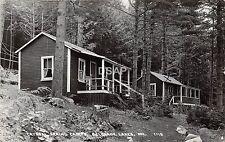 C30/ Belgrade Lakes Maine Me RPPC Real Photo Postcard 1958 Cyrstal Spring Camps