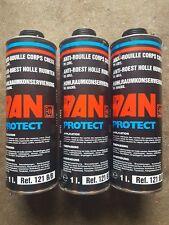 Lot 3 Anti rouille corps creux pulverisable 1 litre, Dan protect ref 121B/B