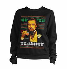 Leonardo DiCaprio Meme Sweater Sweatshirt Jumper - Funny, Django,Christmas,Gift