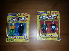 DC POCKET SUPER HEROES : GREEN LANTERN / SINESTRO & AQUAMAN / BLACK MANTA