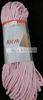 (59 € /kg): 600 Gramm ANYA von Schoeller+Stahl, Fb.011 rosa, für Taschen   #1303