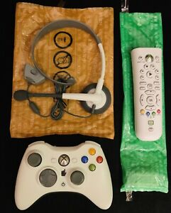 Microsoft XBOX 360 LIVE Accessories Bundle (Open Box)