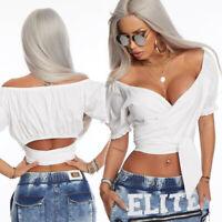 By Alina MEXTON Damenshirt Shirt Top Tunika Bluse Bandeau Oberteil 38 - M #C929