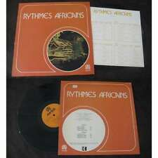 M. Baroty Et A. Dieng ‎– Rythmes Africains LP French Press Auvidis Afro W/Inser