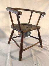 Vintage Original Finish Durex Child Potty Training Chair - Chamber Pot