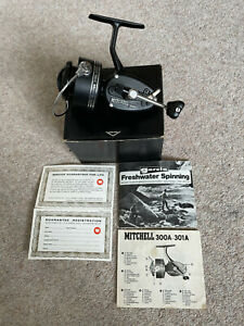 Vintage Mitchell 300 A 300A Fishing Reel In Box. Never Used New Condition