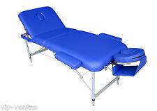 Camilla de masaje aluminio plegable  modelo VIP3011A