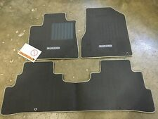 NEW OEM NISSAN MURANO 2015-2017 3PCE CARPET FLOOR MAT SET - CHOCOLATE COLOR ONLY