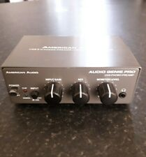 American Audio Genie Pro - USB Phono Preamp/Computer Interface -