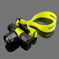 Underwater 100m Portable Diving Headlight Rechargeable Lamp Light Flashlight