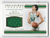 2015-16 Kevin Mchale #/99 Jersey Panini National Treasures Celtics