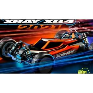 XRAY XB4 - 2021 SPECS - 4WD 1/10 ELECTRIC OFF-ROAD CAR DIRT EDITION - XY360009