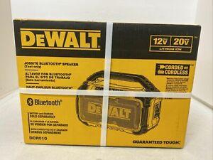 DEWALT DCR010 20-Volt Max Bluetooth Speaker (Tool Only)