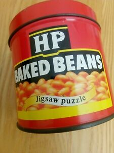Collectors item Heinz baked beans Jigsaw Puzzle in a tin.