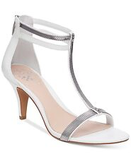 d9f8344ca3be Vince Camuto Makoto Women Open Toe Leather White Sandals US 5.5 White Heels
