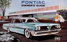 PONTIAC 1961 Owner's Manual 61