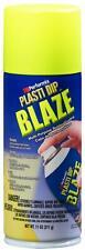 New 11222 6 Blaze Yellow 11oz Plasti Dip Rubber Handle Spray Rubberized Coating