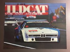 1980 BMW M1 Coupe Race Car Print, Picture, Poster RARE!! Awesome L@@K