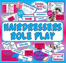 CD HAIRDRESSERS ROLE PLAY TEACHING RESOURCES SCIENCE KEY STAGE 1-2 CD CULTURE