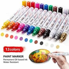 Paint Pens Paint Markers on Almost Anything Never Fade Quick Dry and Permanent,