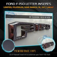 Ford 2001-2005 Sport Trac Overlay Emblem Skin Decal Punisher Black//Orange 3PC