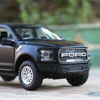 Ford Raptor F150 Diecast Model Car 1:32 Trucks Pull Back Light Sounds UK Stock