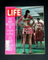 LIFE MAGAZINE AUGUST 21 1970 THE MIDI MUSCLES IN