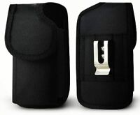 For Moto G 3 3rd Gen Rugged Nylon Pouch Plus Cell Phone With Cover Size Black