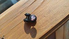 Sugar Skull fake plug PAIR (2) 16G stretcher gauge ear piercing 0G