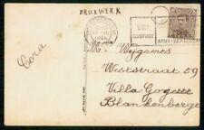 Mayfairstamps Belgium 1920 Olympics Antwerp Slogan Cancel to Blankenberge Postca