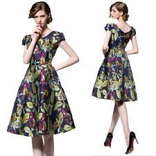 Unbranded V-Neck Party Floral Dresses for Women