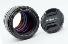 NIKON NIKKOR 85mm 1.8 - 1977 - LOVELY! **VERY RARE AI CONVERTED VERSION!**