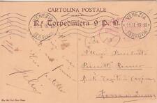 A5174) WW1 MARINA, FRANCHIGIA DELLA REGIA TORPEDINIERA 9 P. M.