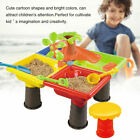 Water Sand Table Play Sandpit Activity Outdoor Indoor Toys Kids Fun and Didactic