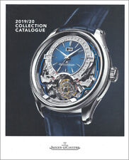 JAEGER-LECOULTRE Luxury Watch PRODUCT CATALOG Softcover BOOK 2019 2020 - 124 Pgs