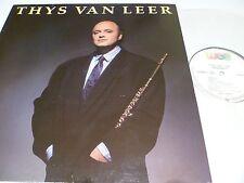 LP, Thys van Leer, Thijs, Renaissance, 1986, OIS, Presseinfo, Topzustand, NM