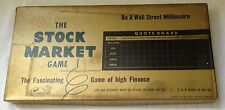 1955 THE STOCK MARKET BOARD GAME Saml Gabriel Sons and Co. New York