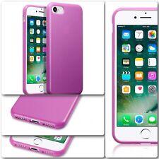 Original Apple iPhone 7 Funda Cubierta De Roca Genuino Tech Flex TPU Gel Bumper Rosa