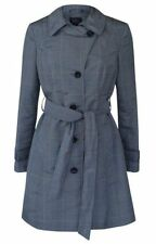Classic Neckline Check Outdoor Coats & Jackets for Women