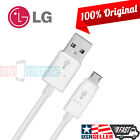 Original LG G4 G3 Flex Data Cable 1.8A 4FT MicroUSB Data Sync Fast Charger Cord