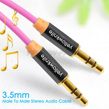 1M/3.3FT OFC 3.5mm Stereo plug male to male Audio IPOD AUX MP3 Cable cord leads