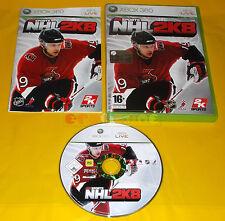NHL 2K8 XBOX 360 Versione Ufficiale Italiana 1ª Edizione ○○ COMPLETO - AI