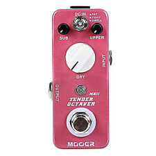 Mooer Tender Octaver MKII Guitar Effects Pedal