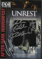 Unrest Movie DVD Signed Autographed