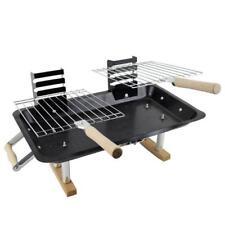 Portable Steel Hibachi BBQ Grill 4 Garden Picnics Beach Camping Caravan 209