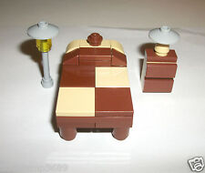 LEGO Bed Bedroom Furniture set Creator House 4MOC 4954 31012 6754 4956 7346 5891