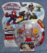 MARVEL ULTIMATE SPIDER-MAN SERIES 1 FIGHTER PODS 4 PACK SET #14