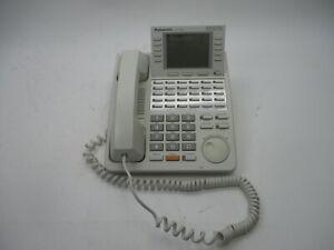 Panasonic KX-T7456 Digital 24 button Speakerphone 6-line Display White phone ..