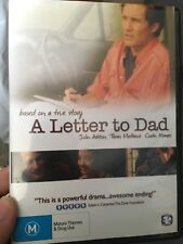 A Letter To Dad region 4 DVD (2009 drama movie) * rare *