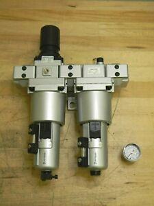 """Jupiter Pneumatics Heavy-Duty Filter Regulator Lubricator w/ Metal Bowl 3/4"""" NPT"""